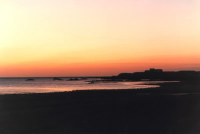 Dusk at Vazon Bay