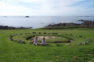 Fairy ring in Guernsey