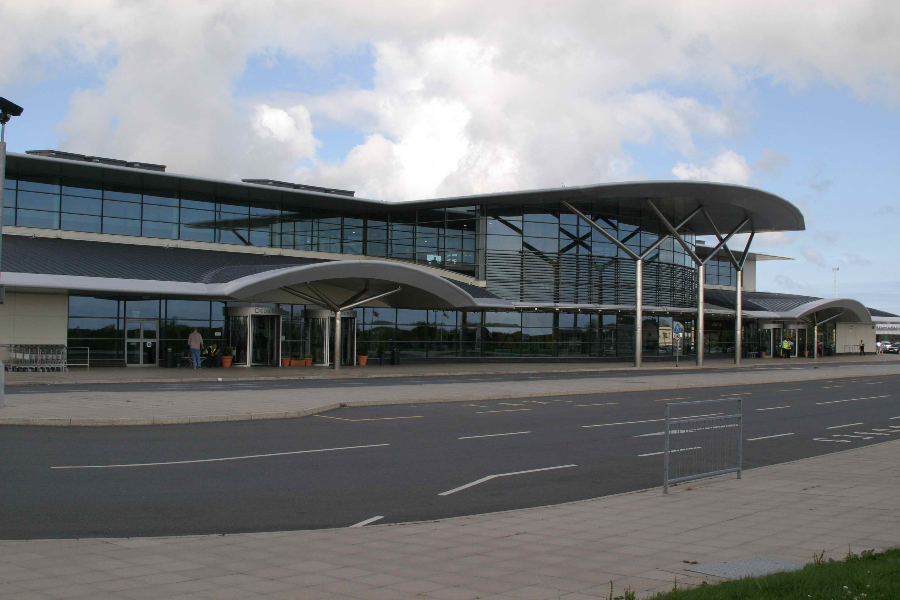 New airport terminal Guernsey