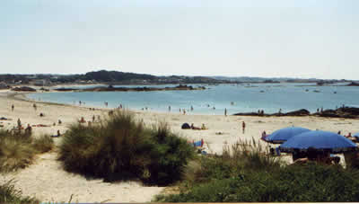Fisherman's beach ,Herm