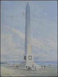 Saumarez Memorial 1874. Courtesy of Guernsey Museum & Galleries, States of Guernsey, 2009